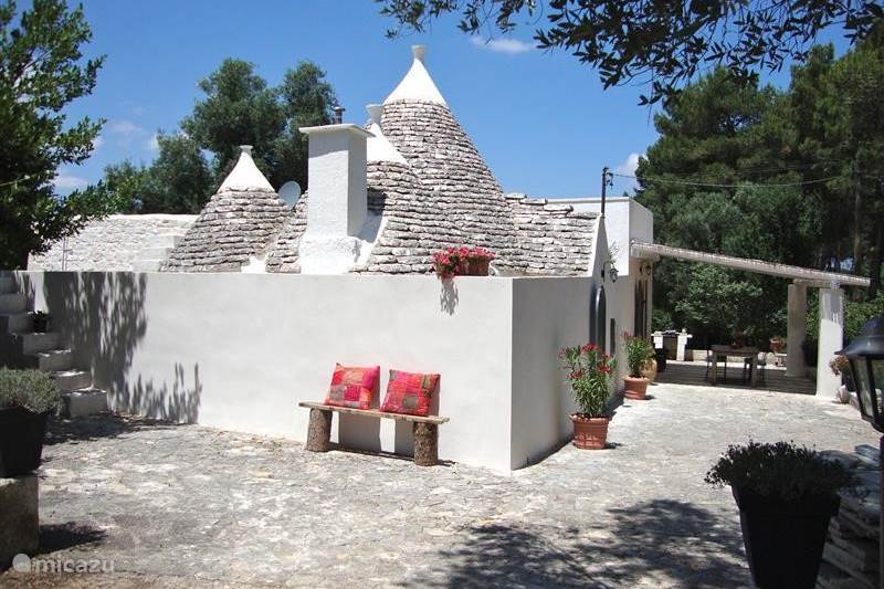 Vakantiehuis Italië, Apulië (Puglia) , Martina Franca Vakantiehuis Trullo Presidente in de Puglia