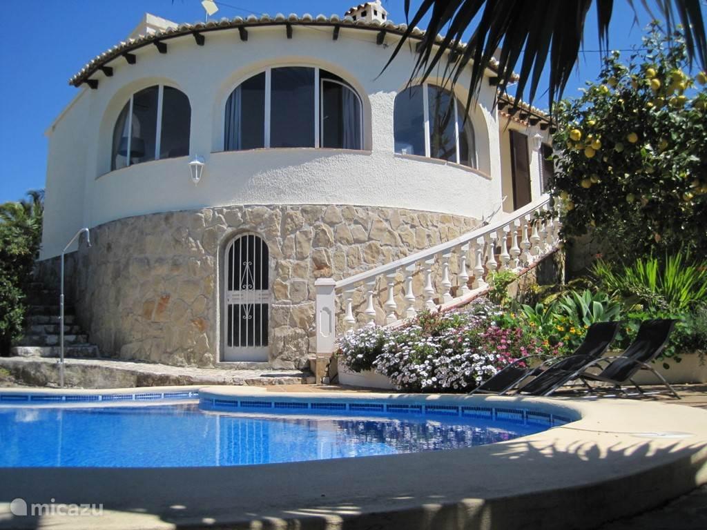Vakantiehuis Spanje, Costa Blanca – villa Casa Mesu