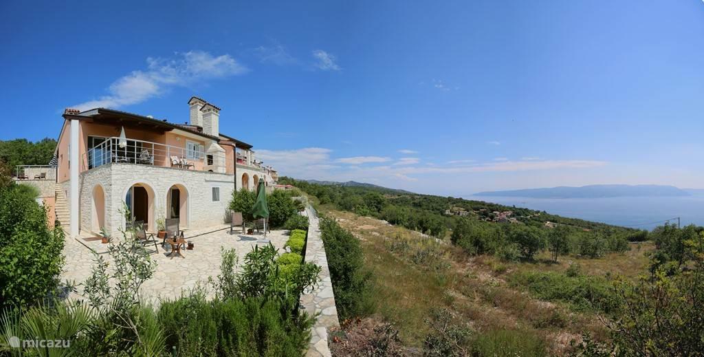 Duiken / snorkelen, Kroatië, Istrië, Labin, villa Villa Anouschka