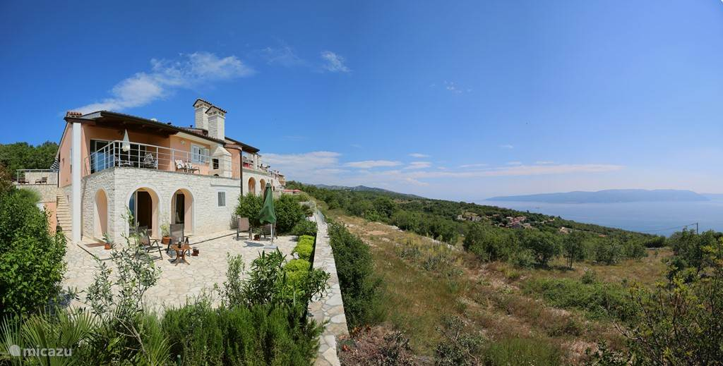 Vakantiehuis Kroatië, Istrië, Labin - villa Villa Anouschka