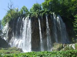 Plitvice Lake (Dalmatia). Approximately 2.5 hours drive. But the ride is definitely worth it. It is one of the most impressive parks we visited. It does not stand for anything on the World Heritage list of UNESCO.