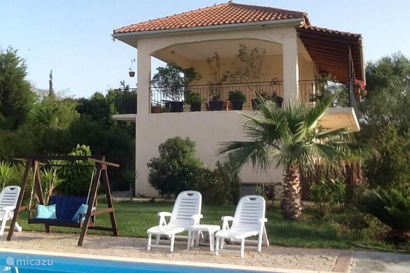 Vakantiehuis Griekenland, Epirus, Paliambela Bed & Breakfast 5alonia app. bed & breakfast App.1.