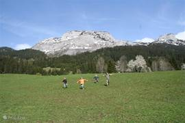 Dachstein West, except for a wonderful ski area is also a great walking
