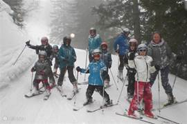A lovely resort, plenty of challenge for experienced skiers, but also great for families