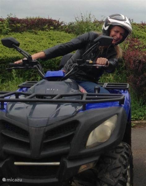 Quad, mountainbike, klimmen, motorcross, vliegvissen