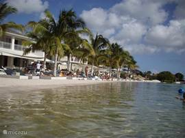 papagajo beach met winkels, goede restaurants, pizzeria en casino.