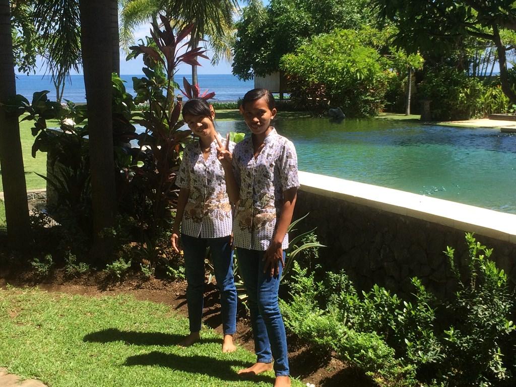 Last Minute i.v.m. annulering. Te huur villa aan het strand op Bali.Nu 150, euro voor 4 personen.datum 28-7 tot 4 aug en 21 aug tot 1 sept