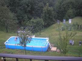 Since summer 2011, a private pool located in the dimension 650 * 265 * 125.