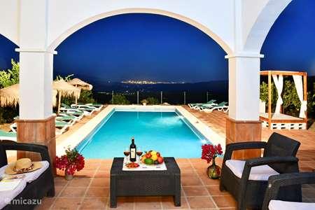Vakantiehuis Spanje, Costa del Sol, Comares - villa Villa El Botin