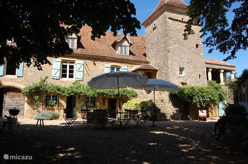 Vacation rental France, Dordogne, Sarlat and Perigord - manor / castle Le Soulelial