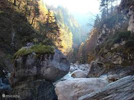 Near Hermagor is Garnitzenklamm. In Carinthia are several cleats when you're in Austria, you must definitely go visit.