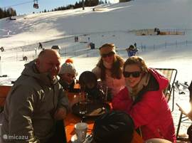 This speaks for itself sun & snow and of course Gluhwein and hot chocolate! What more could you want!