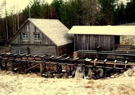 watermolen bij Skoga (8km)