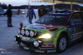 in de eerste week van februari wordt de rust verstoort door Rally Sweden