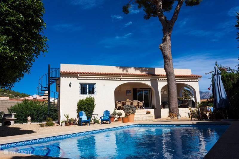 Vakantiehuis Spanje, Costa Blanca, Alfáz del Pi Villa Casa Pino