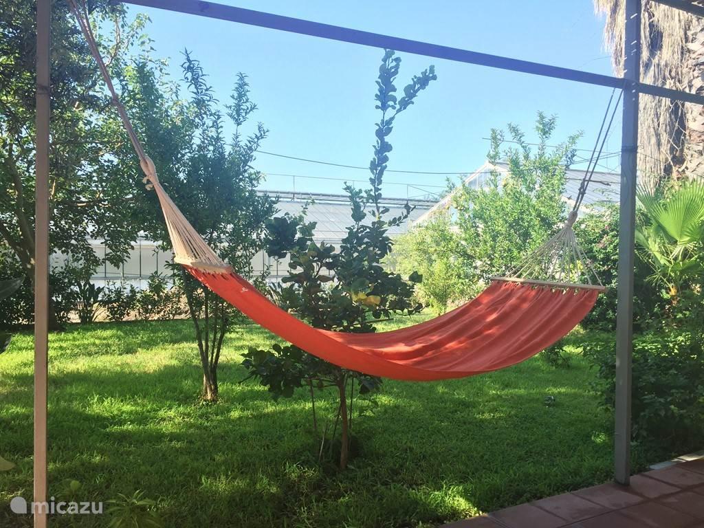 Appartement 2: Tuin + hangmat om te relaxen