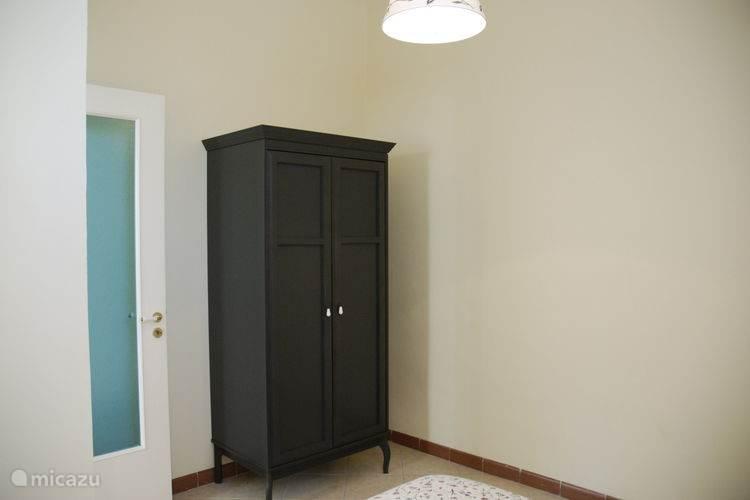 Appartement 2: Slaapkamer detail