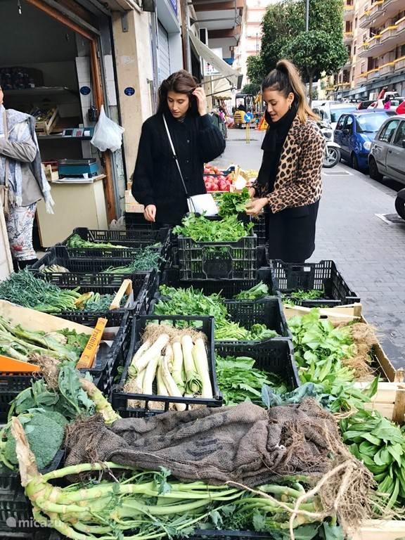 Lokale groentenboer