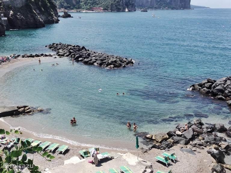 Vico Equense - Scrajo beach. Ligt op 15/20 min rijden van Trecase