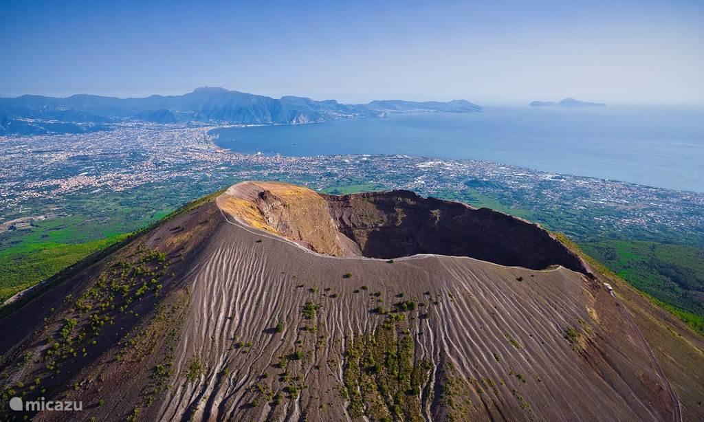 Vesuvius vulkaan 5 minuten afstand