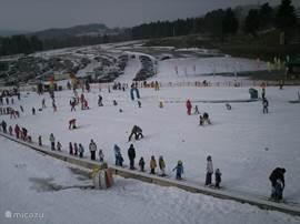 View of the Fox-ski park for children
