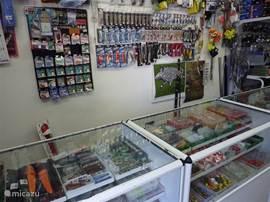 Voor de visliefhebber is alles te koop in Vyssi Brod!
