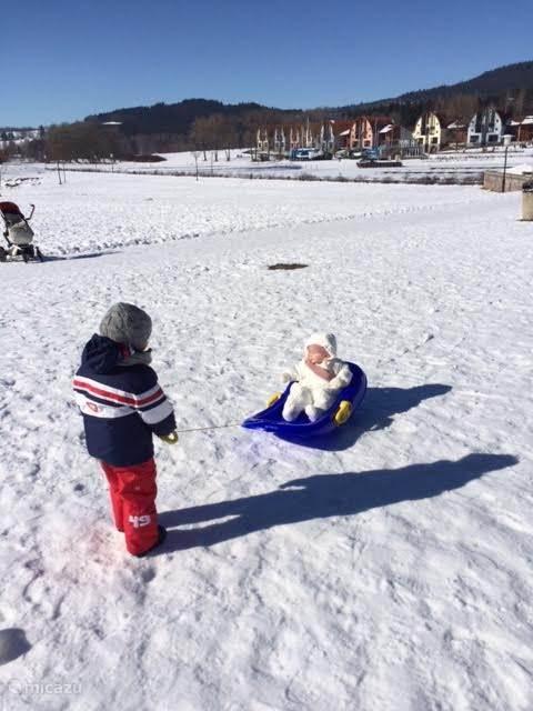 Onze jongste wintersporters!