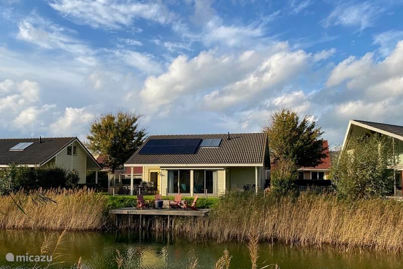Vakantiehuis Nederland, Zeeland, Kortgene Vakantiehuis Vrijstaand aan water Paardekreek 4