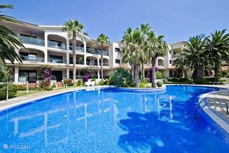 Vakantiehuis Spanje, Costa Dorada, Miami Playa - appartement Appartement gelijk aan het strand