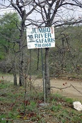 wegwijzer naar de Olifantsrivier