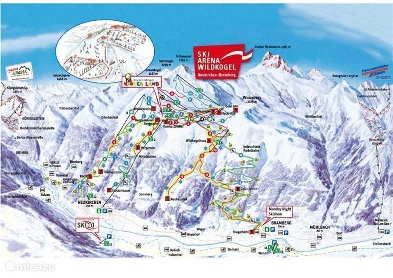 Skigebied Wildkogel