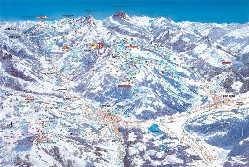 Skigebied Kitzbühler Alpen