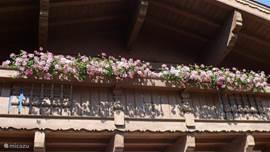 Typisch Oostenrijks balkon