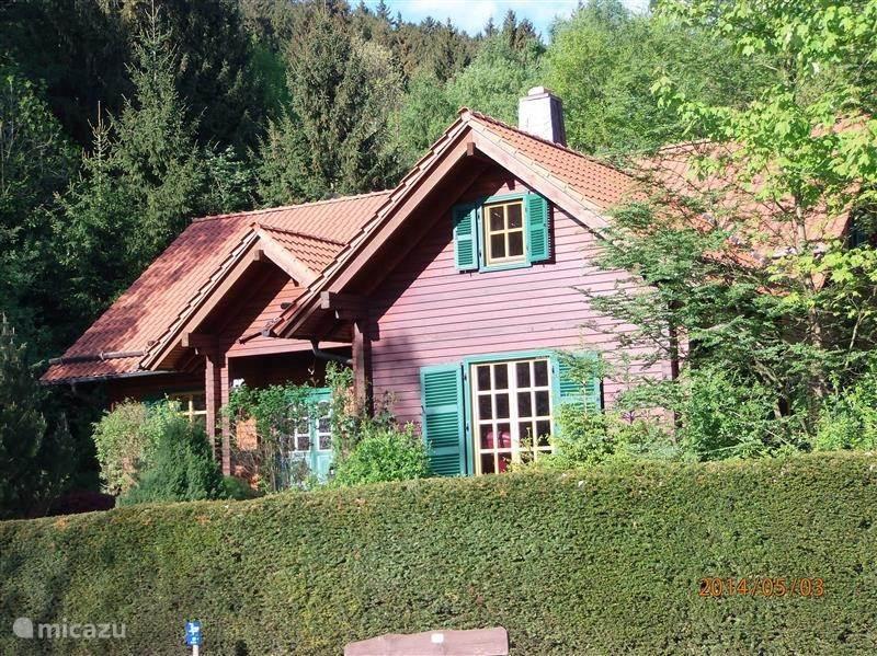 Vacation rental Germany, Harz, Bad Grund - villa Intimis (villa + saunachalet)