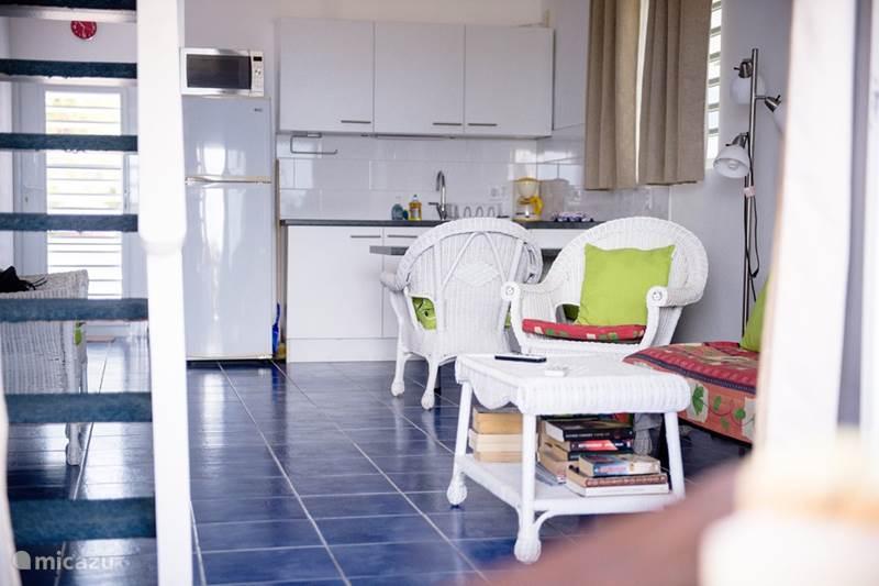 Vakantiehuis Curaçao, Banda Abou (west), Westpunt Appartement Appartement aan zee op Curacao