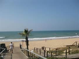 het strand bij Antonio