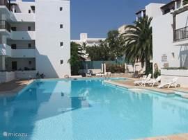 Grootste openlucht zwembad van Cala D'or !! En met de minste aantal zwemmers aangezien alleen leden/huurders toegang hebben.