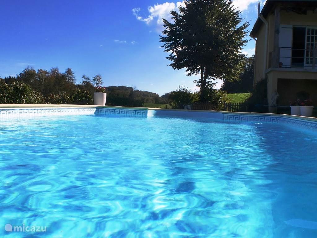 zwembad 10 X 5 meter en 180 diep