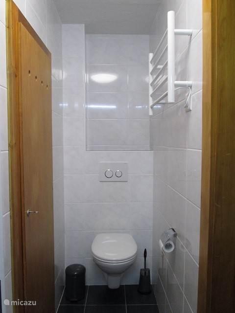 en toilet