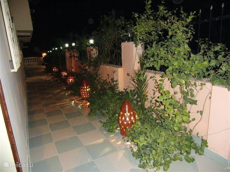 Das gemütliche Eingang des Home Sweet Home