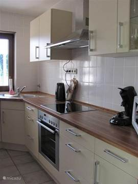 The kitchen in 2010 and was fitted with all modern comforts.