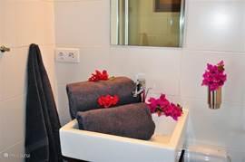 Badkamer bij slaapkamer 2 en 3.