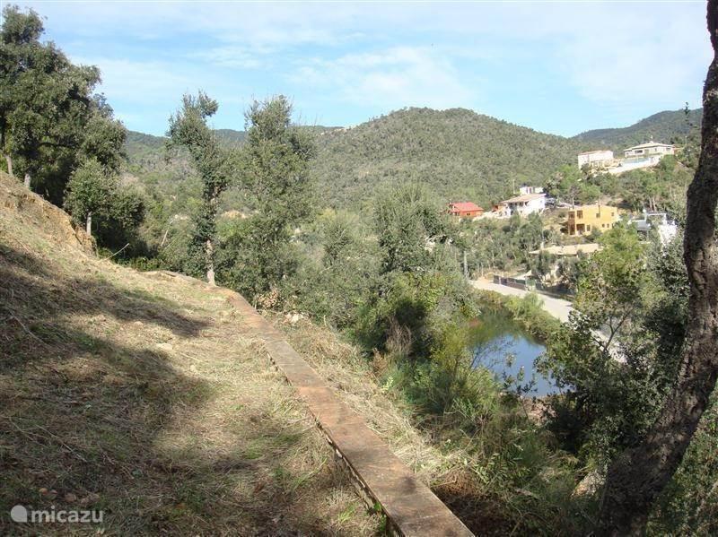 De omgeving van de villa