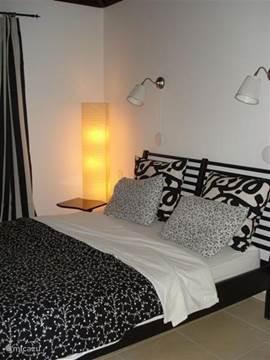 één van de slaapkamer met en suite de badkamer op de 2e verdieping