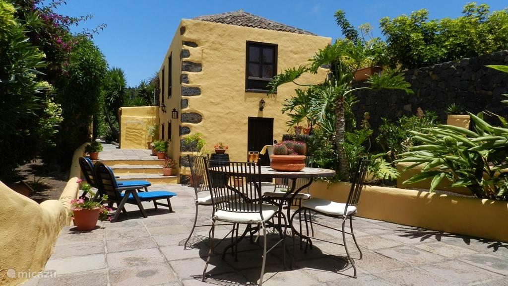 Vakantiehuis Spanje, Tenerife, Icod de los Vinos - vakantiehuis Casa La Bodega Finca Las Breveritas