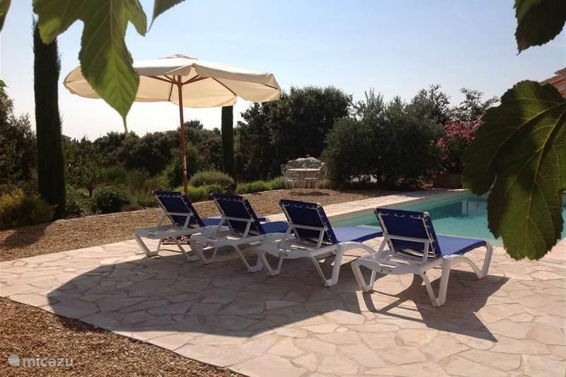 Ferienwohnung Frankreich, Vaucluse, Saumane-de-Vaucluse Villa Wunderschöne Villa: Schwimmen, Tennis, Golf, Antiquitäten, Ruhe