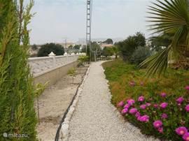 Wandelpaden voor het optimaal genieten van de tuin.