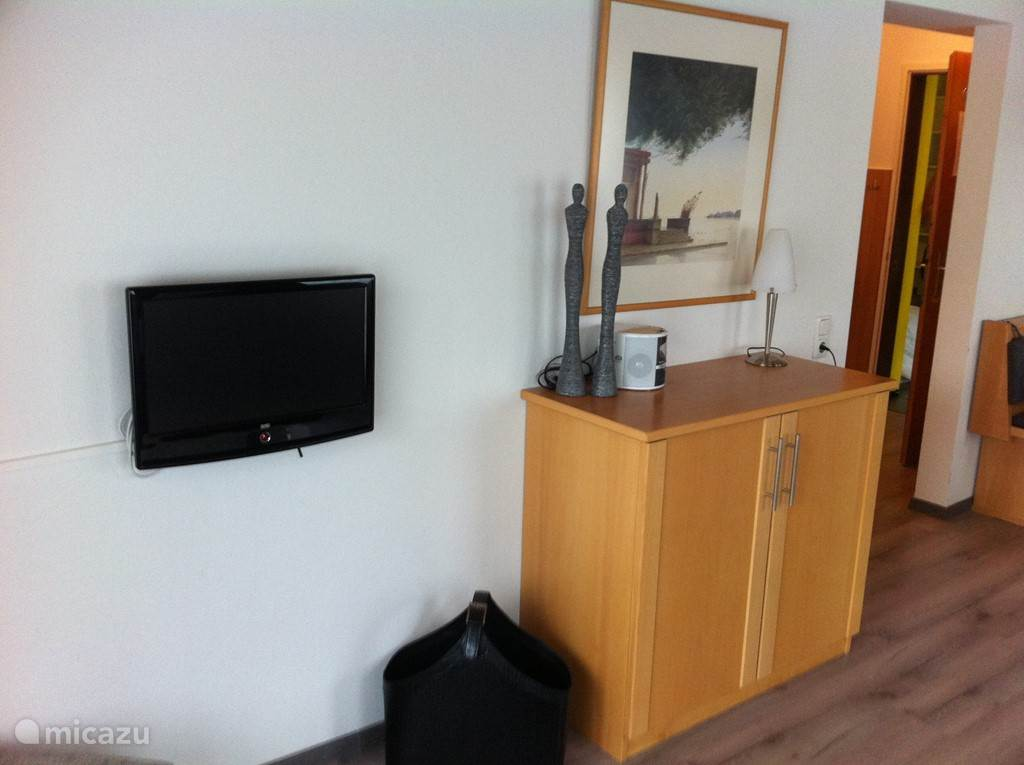 Voldoende ruimte, TV met DVD.