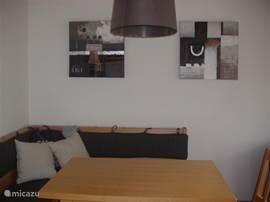 Spacious cozy dining area