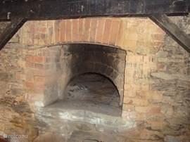 The bread oven, you can also bake good pizzas